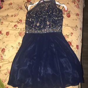 Blue New York New York Dress